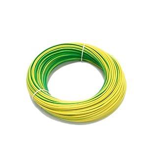 as - Schwabe Aderleitung H05V-K 1,0, 100 m, grün/gelb 57551