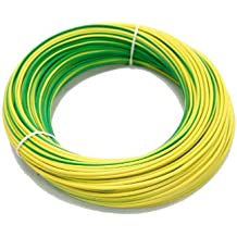 as - Schwabe 57557 - Cable eléctrico, color: verde/amarillo