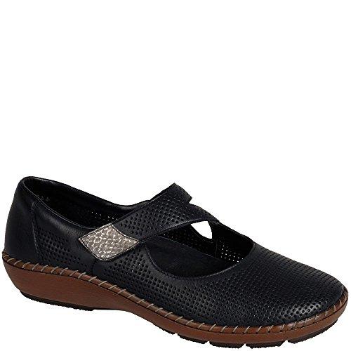 Rieker Woman Cristalli Shoe Black Black