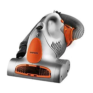 Pifco P28006S Stairmaster Handheld Multi-Purpose Vacuum Cleaner with High Powered Motorized Brush, 800 W, Silver/Orange