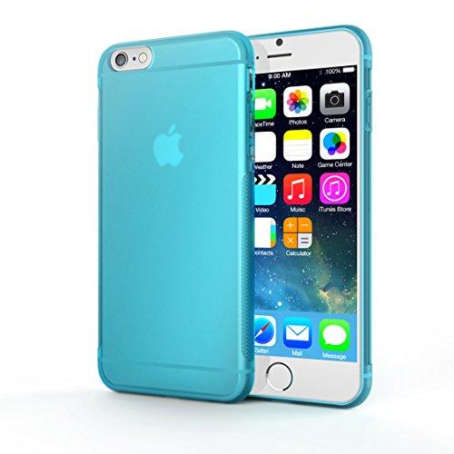 Coque iPhone 6s, TeckNet Coque de Protection Cover Case Ultra Fine pour Soft Gel TPU pour Apple iPhone 6S/6 (4,7 pouces) Bleu