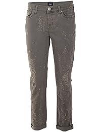 Hudson Femme WC4100DLWLOGDGRN Gris Coton Jeans