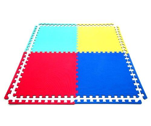 8 x Suelo Para Ninos Y Infantiles EVA Puzzle Colchonetas 60cm x 60cm x12mm