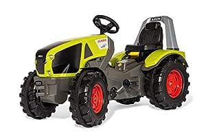 Rolly Toys RollyToys 640089 RollyX-Trac Premium Claas Axion 940 - Tractor de Pedales para niños de 3 a 10 años (neumáticos de Marcha silenciosa), Color Verde