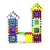 24pcs / lot Blocs de Construction imbriqués en Plastique Blocs de Maison Bricolage Jouet de Jeu de Jeu pour Enfants Illumination Jouet éducatif (ToGames)