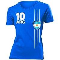 8 verschiedene ARGENTINIEN FANSHIRTS Motive auswählbar - Damen T-Shirt Gr.S bis XXL - Golebros