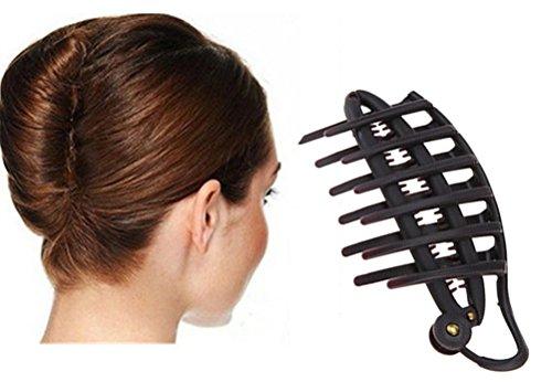 cuhair 2pc DIY Magic French Hair Twist Frauen Mädchen Nadel Haarspange Haar Clip Dinner Party Haar Styling-Werkzeuge Zubehör (Mädchen-nadel)