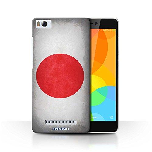 Stuff4® Hülle/Case für Xiaomi Mi 4i / Japan/Japanische Muster/Flagge Kollektion
