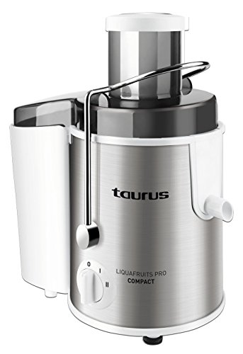 Taurus 924.718 Licuadora eléctrica, 500 W, 1 Liter, 2 Velocidades, Negro, Acero inoxidable