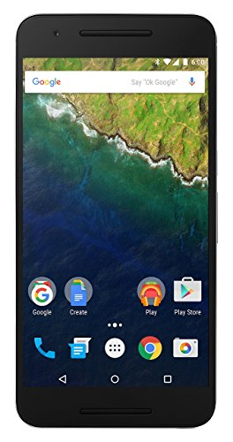 Huawai Nexus 6P H1512 (Silver, 64GB)(Certified Refurbished)