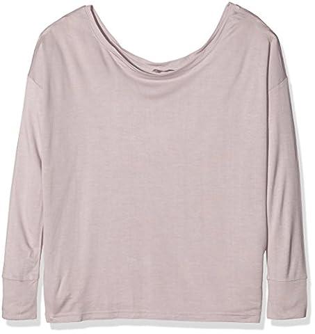 Charnos Women's Cocoon Loungewear Slouchy Sweater Pyjama Top, Pink (Sugar Plum), Large