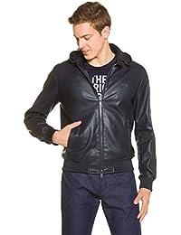best service b7667 5741a Amazon.it: giacca di pelle uomo - Emporio Armani / Giacche ...