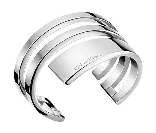Calvin Klein Damen-Armreifen Edelstahl KJ3UMF00010S