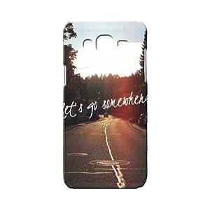 BLUEDIO Designer 3D Printed Back case cover for Samsung Galaxy J7 - G5459
