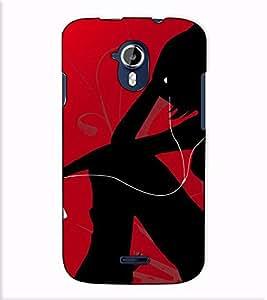 Fuson Designer Back Case Cover for Micromax Canvas Magnus A117 :: Micromax A117 Canvas Magnus (Music listner lady)