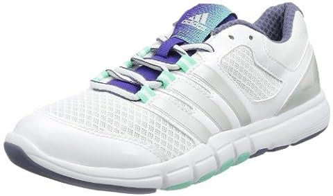 adidas Performance 8, Women's Gymnastics Shoes, Running White / Metallic