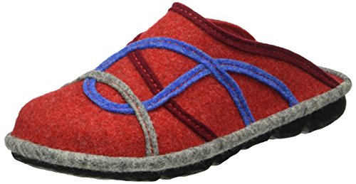 ROMIKA Mikado 85, Chaussons femme Rouge - Rot (rot-multi 473)