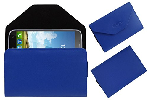Acm Premium Pouch Case For Karbonn Titanium S9 Lite Flip Flap Cover Holder Blue  available at amazon for Rs.329
