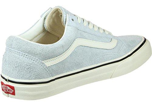 Vans Old Skool Schuhe fuzzy suede blue (Blue Suede Vans)