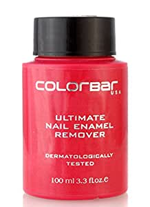 Colorbar Ultimate Nail Enamel Remover, 100ml