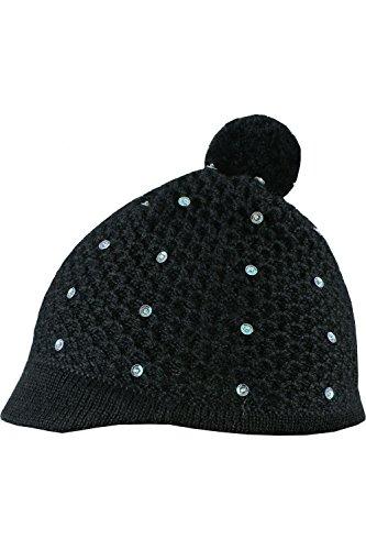 baby-alpaca-black-knitted-beanie-hat-with-sequins-100-baby-alpaca-wool