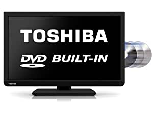 Toshiba 22D1333B 22-inch Widescreen 1080p Full HD LED TV with Built-In DVD Player