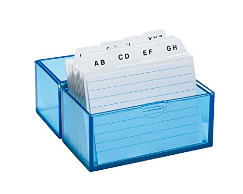 wedo-2508303-scatola-per-archivio-in-formato-a8-con-100-schede-in-plastica-150-pagine-colore-bianco-