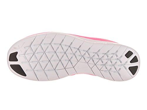 Nike - Free RN (GS), Scarpe sportive Bambina Pnk Black/Mtllc Slvr/White/Blk