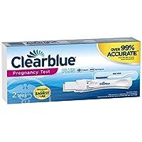 إختبار حمل منزلي كليربلو 2 قطعة Clearblue Easy Clearblue Easy /- Results Pregnancy Test, 2 each