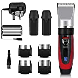 Best Clippers Hairs - GHB Hair Clipper Rechargeable Hair Trimmer Electric Cordless Review