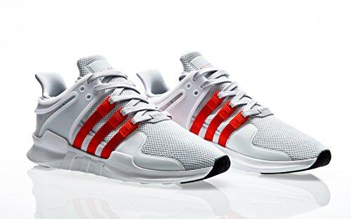 Adidas Eqt Support Adv Herren Sneaker Schwarz clear grey-bold orange-footwear white