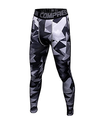 Hosen Nike Thermo (Herren Strumpfhosen Leggings Winter Hosen Base Layer Unterwäsche Warme Baumwoll Thermo Hose Long Johns Lange Unterhose Als Bild S)