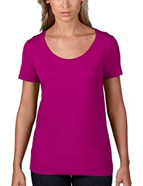 Anvil Women's Sheer Scoop Tee - Camiseta para mujer