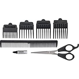 essentials - 410GFrwPrnL - High Quality Essentials by Babyliss For Men 7437EU 8 Piece Clipper.