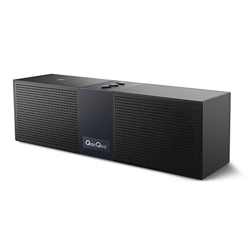 Bqeel Bluetooth Speakers Portable Bluetooth Wireless Speaker (High Definition Audio, Built-in Microphone, NFC, 10 Hours Playtime, Two Acoustic Drivers, A2DP Profiling)