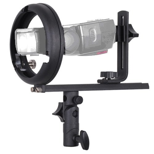 Rocwing - Converting Mount Ring Adapter for Flash Beauty Dish Softbox and Studio Lamp Shade (Part T Bowens Speedlite Bracket)