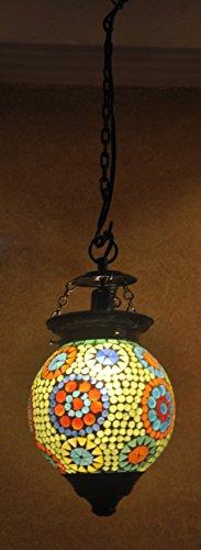 indien-verre-abat-plafond-decoratif-lumiere-pendaison
