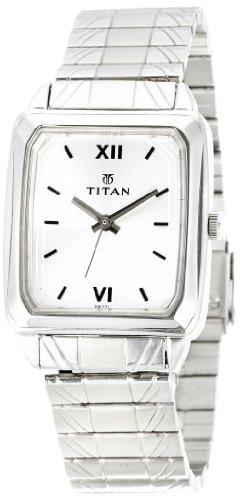 410GJ%2B%2BRb7L - Titan NE1581SM01 Karishma Silver Mens watch
