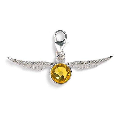 Offizielle Harry Potter Swarovski Kristalle Golden Snitch Clip auf Charm - Boxed