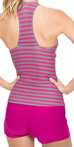 Frieda Fashion -  Tankini  - Opaco - Donna Pink