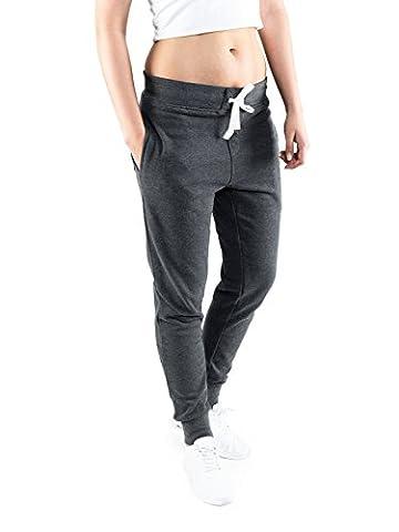 Casual Standard Damen Jogginghose Sweatpants Freizeithose Sporthose Trainingshose Jogger Gym Fitness Hose Slim Fit … (M,