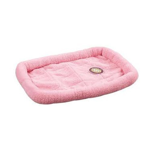 slumber-pet-sherpa-dog-crate-bed-x-small-baby-pink-by-petedge-dealer-services-english-manual