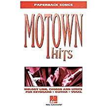 Motown Hits. Sheet Music for Melody Line, Lyrics & Chords, Piano, Vocal & Guitar