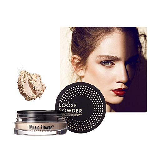 Blentude Set Makeup Loose Powder Ölkontrolle Wasserdichtes Mattpuder Skin Finish Powder Brighten Skin Tone