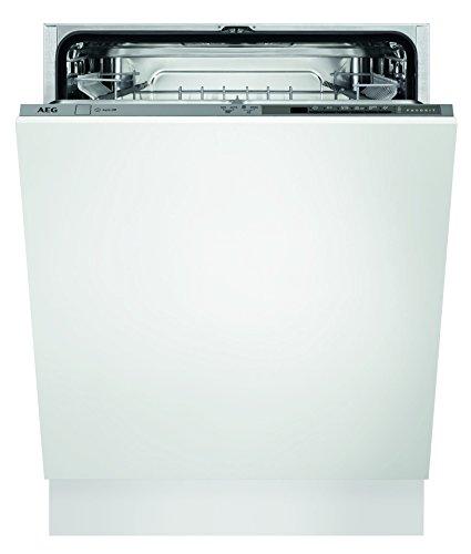AEG FSB41600Z Geschirrspüler (vollintegriert)/sparsame Spülmaschine mit Programmautomatik und Restlaufanzeige/A+/Einbaugeschirrspüler mit...