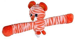 Wild Republic- Huggers Scent Tigre Aroma a Naranja, Peluche de Pulsera con Abrazo, 20 cm, Color (1)