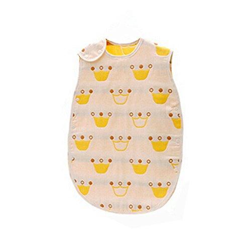 Blancho Bedding Kinder Niedlich Wearable Decke, Baby-Schlaf Bag 100% Baumwolle, Medium