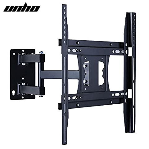 Universal Articulating TV Wall Mount Arm Bracket 22-50 inch Screen for LED LCD Plasma Max VESA 400x400mm Capacity 30KG for