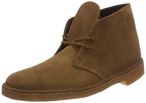 Clarks originals boot, stivali desert boots uomo, marrone (cola suede-), 44.5 eu