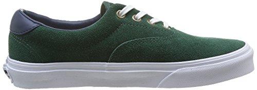 Vans ERA 59 Unisex-Erwachsene Sneakers Grün ((Suede/Leather) FMX)